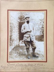 Joseph FRANC, mort au combat en 1917.