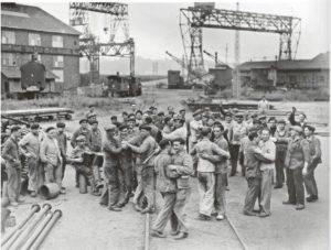 grève 1936 chantiers navals de Bordeaux